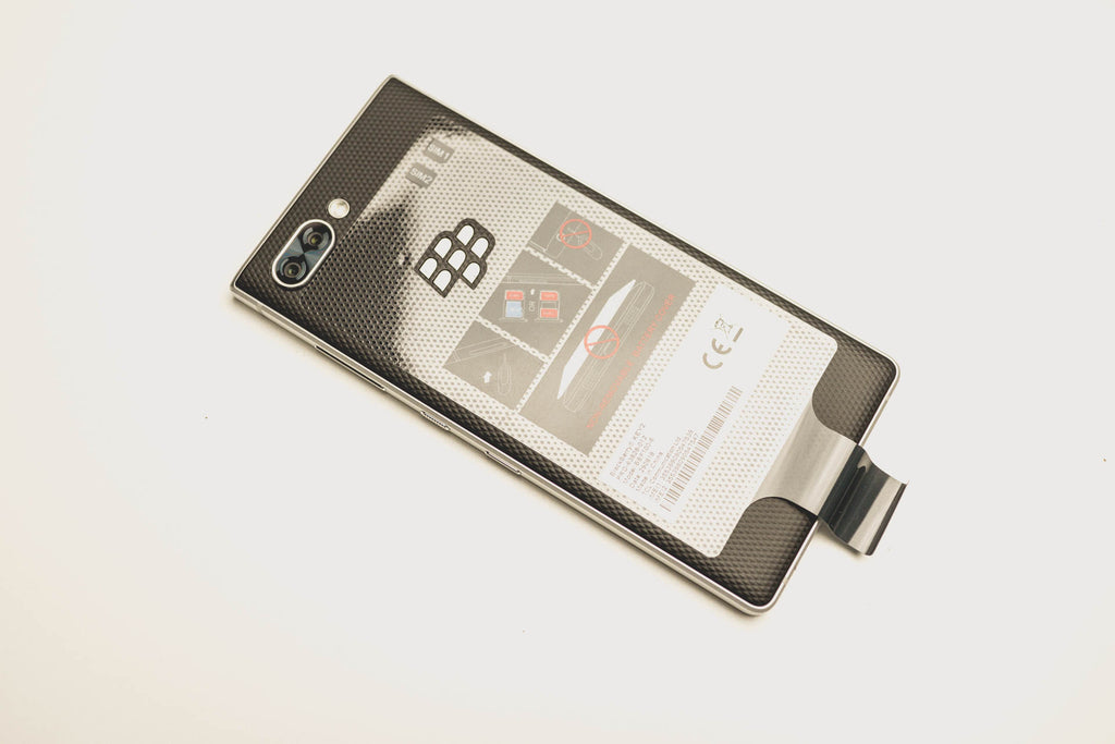BlackBerry KEY2 Silver серебристый