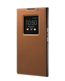 Чехол Priv Leather Smart Flip Case коричневый - BlackBerry Russia,  BlackBerry