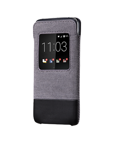 Чехол DTEK50 Smart Pocket, черный / серый - BlackBerry Russia,  BlackBerry