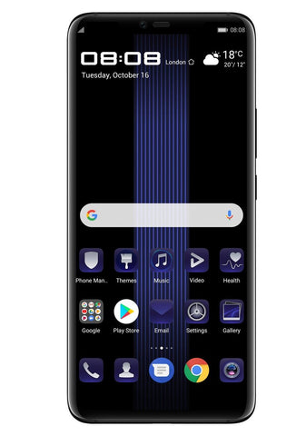Mate 20 RS Porsche Design 256GB черный - BlackBerry Russia,  Huawei