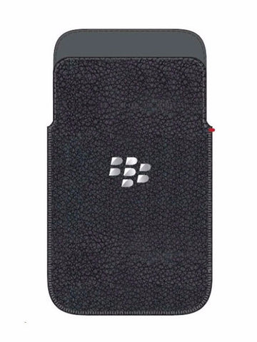 Q5 Leather Pocket черный - BlackBerry Russia,  BlackBerry