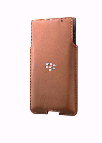 Чехол Priv Leather Pocket коричневый - BlackBerry Russia,  BlackBerry