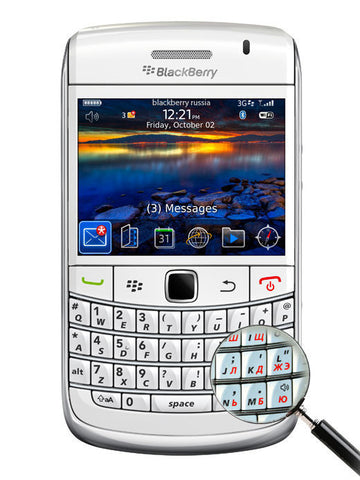 BlackBerry Bold 9780 белый - BlackBerry Russia,  BlackBerry
