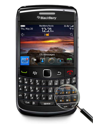 Bold 9780 - BlackBerry Russia,  BlackBerry
