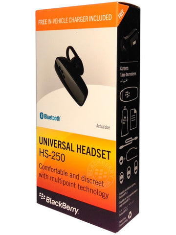 Гарнитура BlackBerry Universal Headset HS-250 - BlackBerry Russia,  BlackBerry
