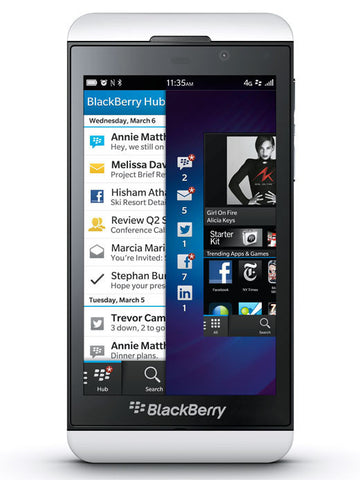Z10 3G White - BlackBerry Russia,  BlackBerry