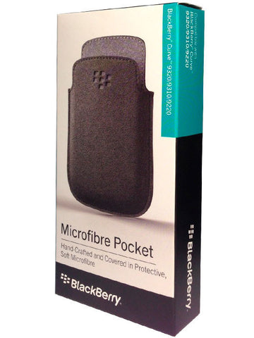Чехол BlackBerry 9320 Microfibre Pocket Black - BlackBerry Russia,  BlackBerry