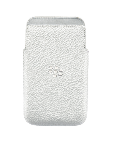 Чехол BlackBerry Q10 Leather Pocket White