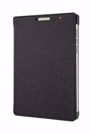 Чехол Passport Silver Edition Leather Flip Case Black