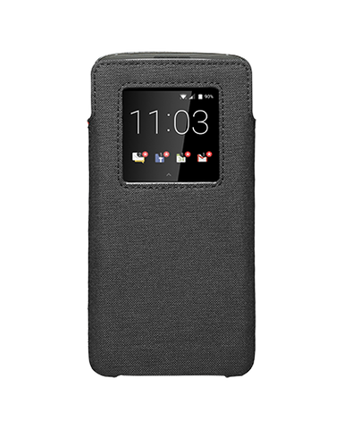 Чехол DTEK60 Leather Smart Pocket черный