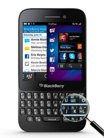 Q5 LTE 4G Black - BlackBerry Russia,  BlackBerry