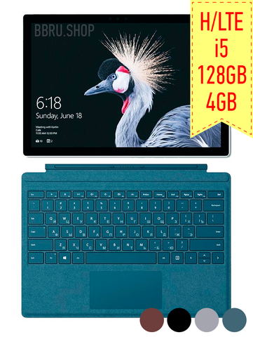Surface Pro 5 i5 4Gb 128GB LTE - BlackBerry Russia,  Microsoft