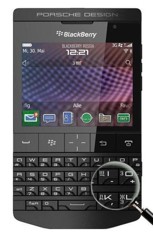 Porsche Design P'9981 Black - BlackBerry Russia,  BlackBerry