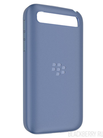 Чехол BlackBerry Classic Soft Shell Case Blue - BlackBerry Russia,  BlackBerry