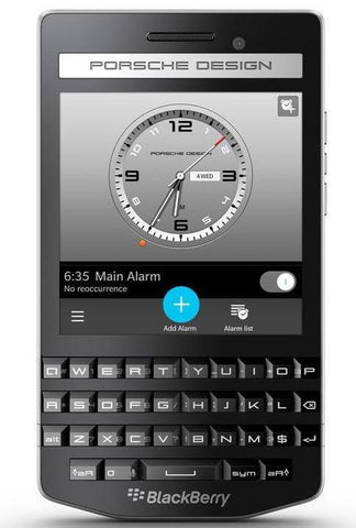PORSCHE DESIGN P'9983 LTE 4G черный - BlackBerry Russia,  BlackBerry
