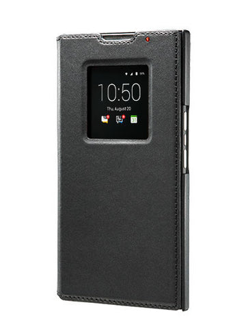 Чехол Priv Leather Smart Flip Case черный