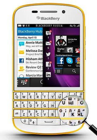 BlackBerry Q10 SQN100-3 LTE 4G Special Edition золотой