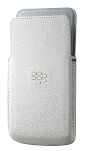 Чехол Z30 Leather Pocket White - BlackBerry Russia,  BlackBerry