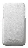 Чехол Z30 Leather Pocket White
