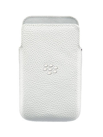 Чехол BlackBerry Classic Q20 Leather Pocket White