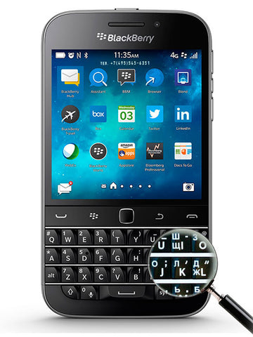 Classic Q20 LTE 4G черный - BlackBerry Russia,  BlackBerry