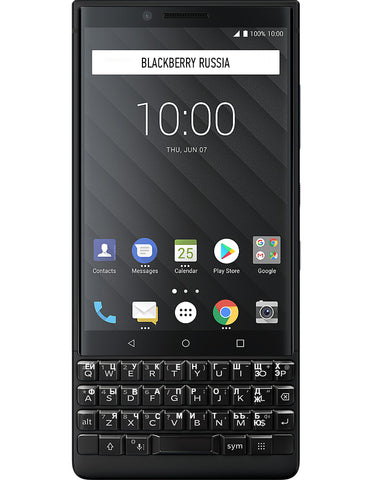 KEY2 128GB Dual SIM Black черный - BlackBerry Russia,  BlackBerry