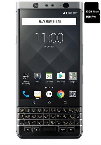 KEYone Silver Edition серебристый - BlackBerry Russia,  BlackBerry
