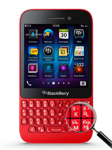 Q5 LTE 4G Red - BlackBerry Russia,  BlackBerry