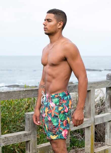 Colorful Floral Trunks