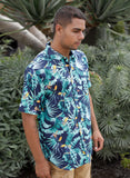 Tropics Print Button Up