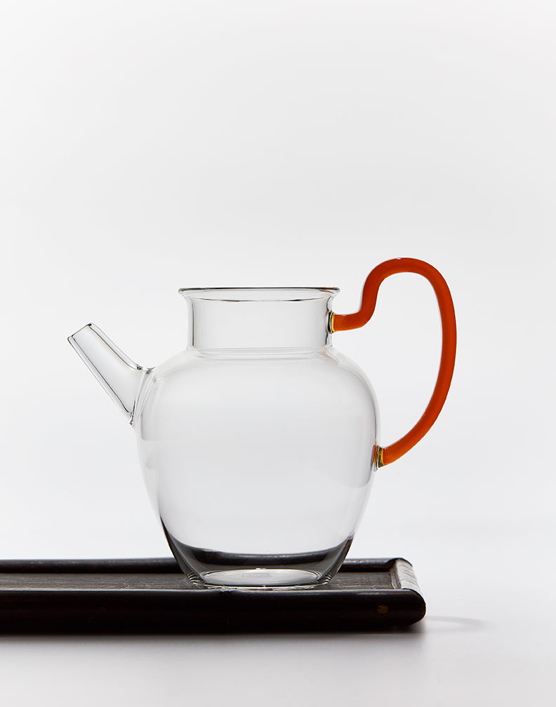 Glass Pitcher (With Handle)