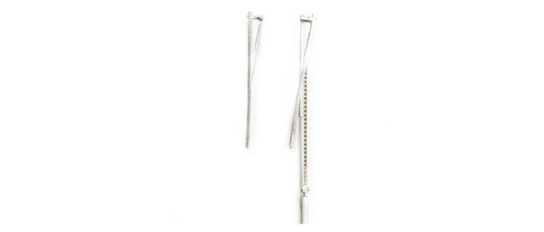 Stereotype Earring 04 Silver