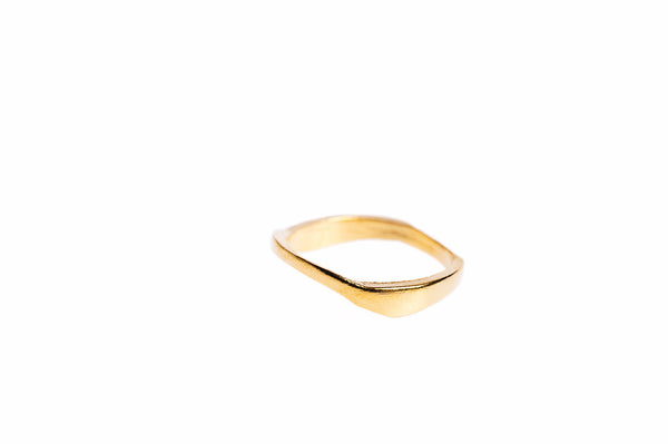 Ring 01 Gold Plated Silver