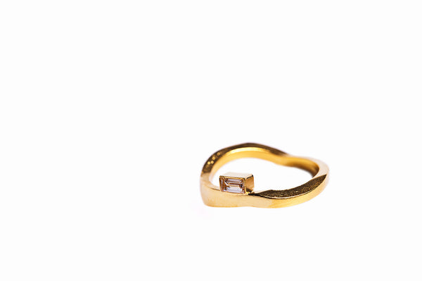 Ring 03 Gold Plated Silver
