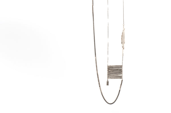 Prefase Necklace 01 Silver