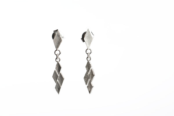 Links Earring 04 Silver