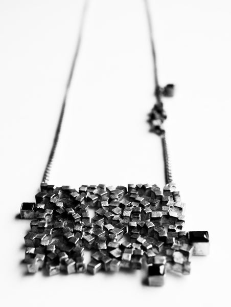 Maison Mosaic Necklace 01 Silver