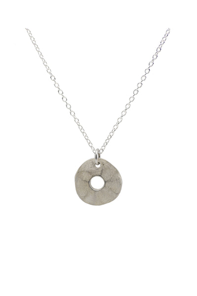 Silver Tolvan Necklace