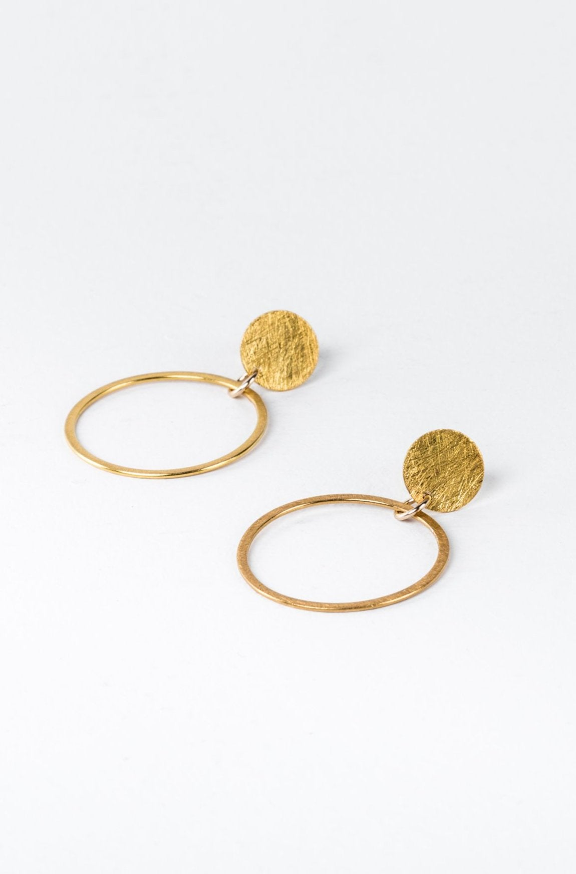 Gold Luna Earrings - Out of stock, pre order for delivery late February