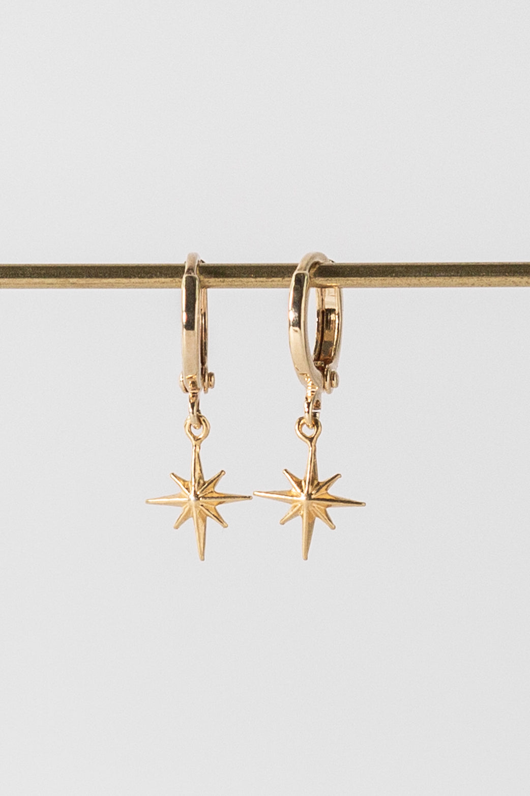 WEB EXCLUSIVE: Gold North Star Earrings