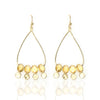 Adonia Citrine Quartz Earrings