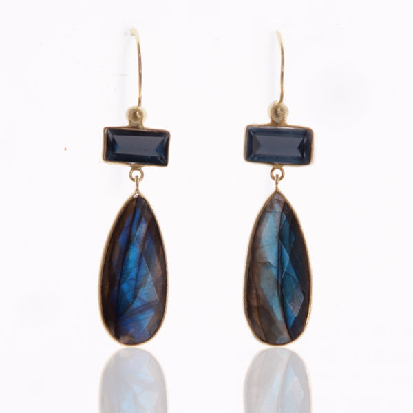 Cosmina Labradorite Earrings