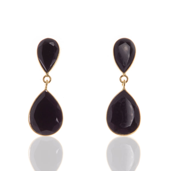 Elexis Black Onyx Earrings
