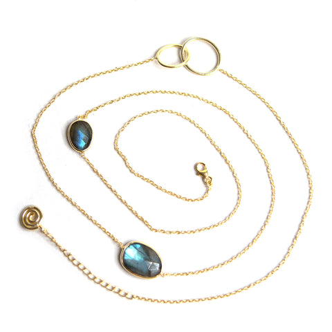 Ines Labradorite Necklace