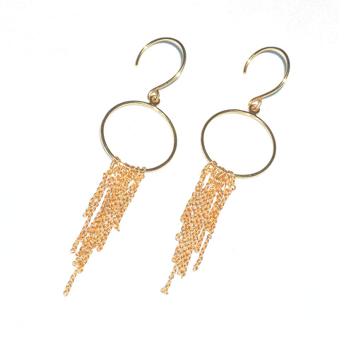 Juno Gold Droplet Earrings