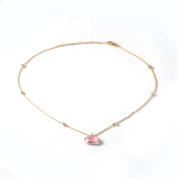 Ali Rose Quartz Necklace