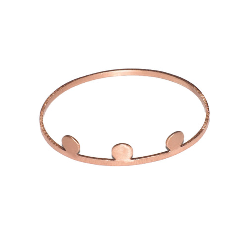 Adonis Rose Gold Bangle