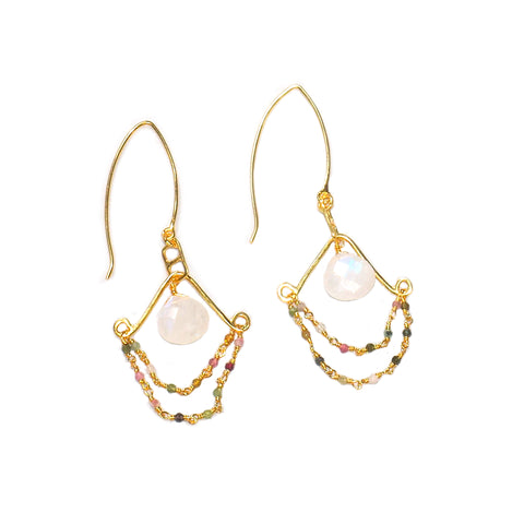 Aphrodite Gold Earrings