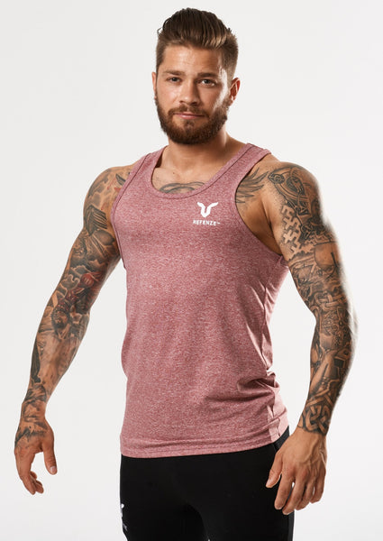Refenze Interceptor Tank Top Radical Red
