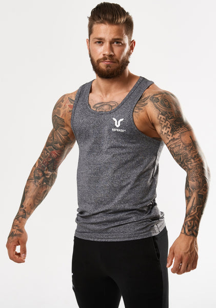 Refenze Interceptor Tank Top Slate Grey